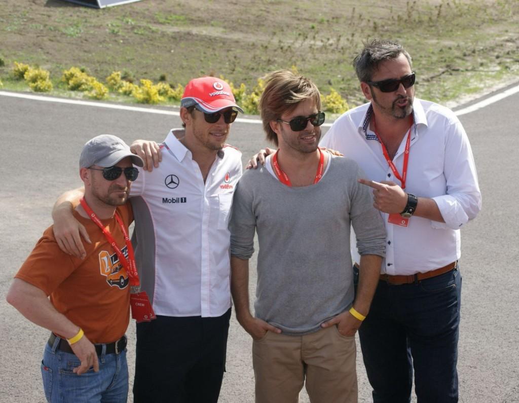 Button és a Morning Show csapata,melyből nem hiányozhat Sebestyén Balázs