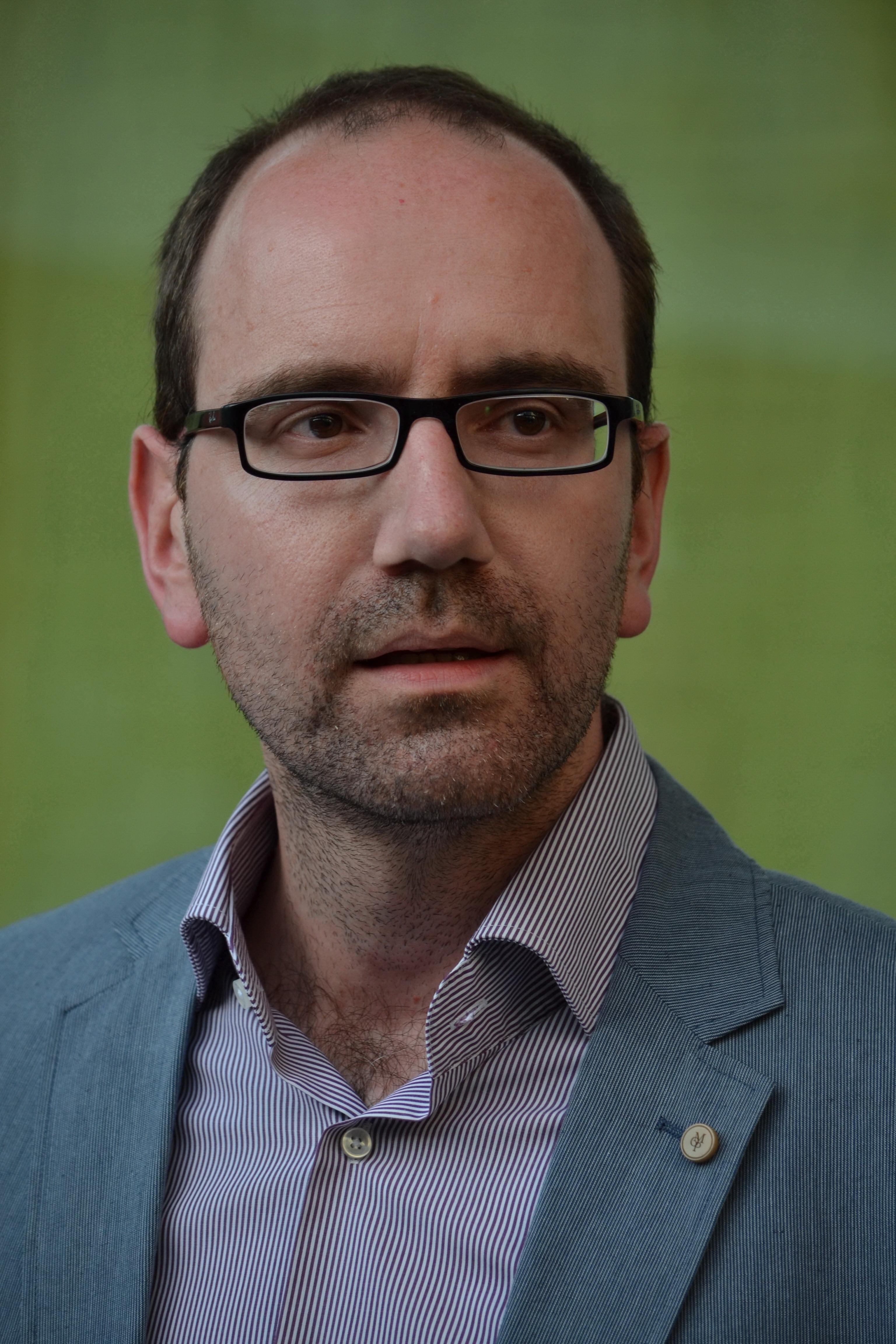 Dr. Méhes Márton a Balassi Intézet-Collegium Hungaricum Bécs igazgatója