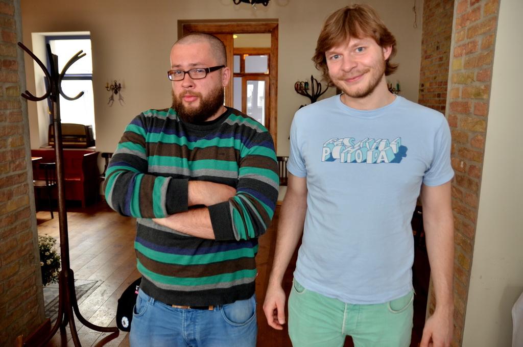 Grzegorz Bruszewski és Jan Pawel Kowalewicz