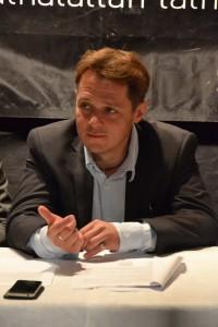Őze Áron, a Pesti Magyar színház igazgatója