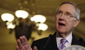 Harry Reid, the Senate Democratic majority leader of the U.S.