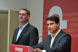 Botka László, a testület elnöke és Mesterházy Attila
