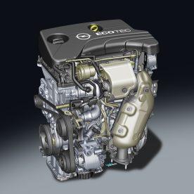 Az új 1.0 literes turbó (85 kW/115 LE) a sima járás etalonja a háromhengeresek között A kis, közvetlen befecskendezéses benzinmotor-család első tagjaként az Opel ADAM-ban debütál Nagyobb nyomaték és kisebb fogyasztás, mint egy 1.6-os szívómotoré Élvonalbeli konstrukció, a hengerfejbe integrált kipufogócsonkkal