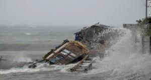 Haiyan typhoon struck Friday morning