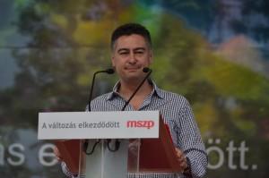 Horváth Csaba az MSZP főpolgármester-jelöltje Fotó:Juhász Melinda
