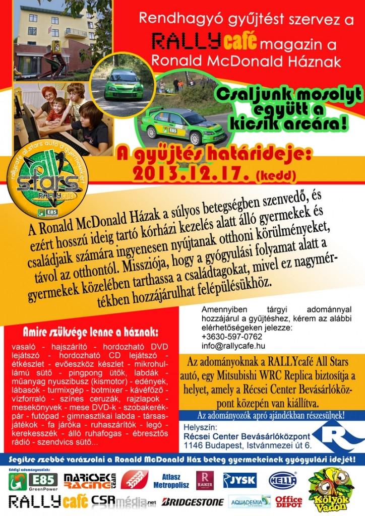 Ronald McDonald_plakát_2013.11.29