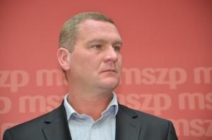 Botka László az MSZP választmányi elnöke  Fotó: Juhász Melinda