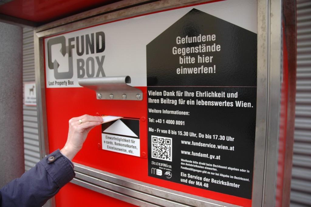 Fundservice der Stadt Wien zieht um