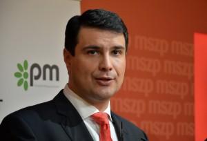 Mesterházy Attila az Összefogás miniszterelnök-jelöltje  Fotó: Juhász Melinda
