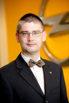 Koncz Gábor, az Opel Magyarország ügyvezető igazgatója