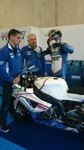A BMW Racing Team Toth versenyzője, ifjabb Tóth Imre mindkétszer a legjobb húszban végzett vasárnap az asseni futamokon a Superbike-vb csúcskategóriájában, míg Sebestyén Péter technikai gondok miatt kiesett