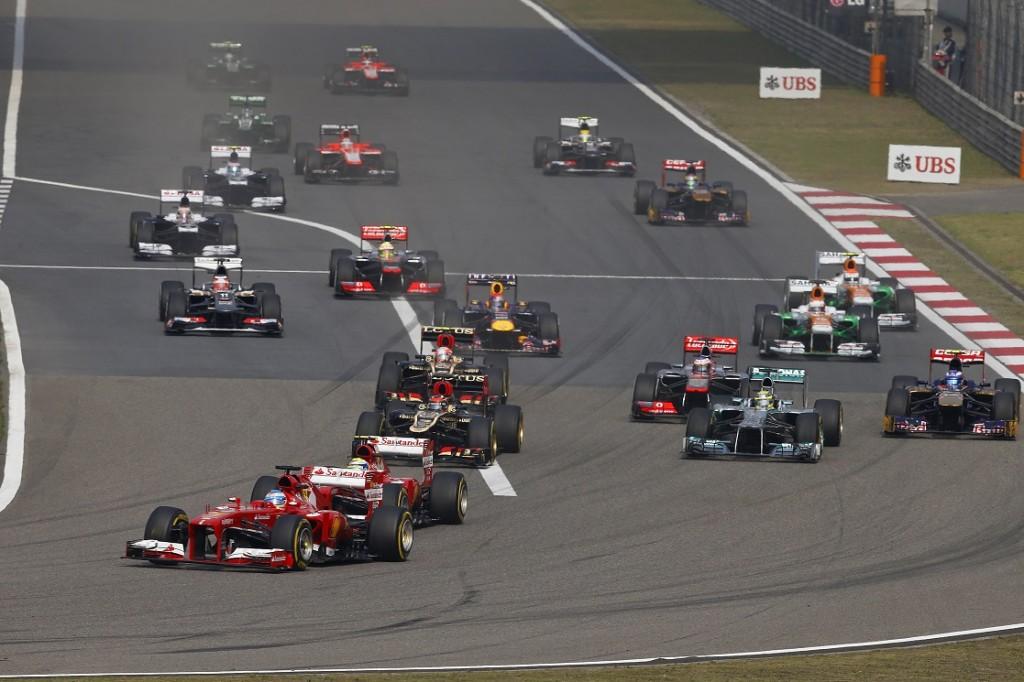 F1 - CHINA GRAND PRIX  2013