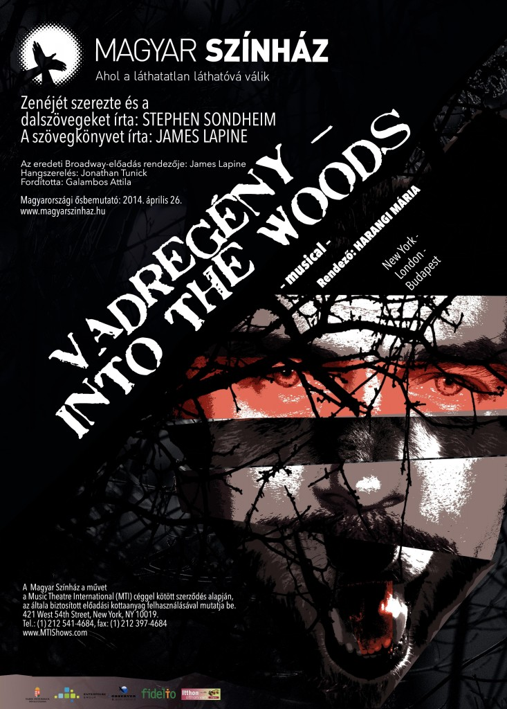 Stephen Sondheim: INTO THE WOODS - VADREGÉNY