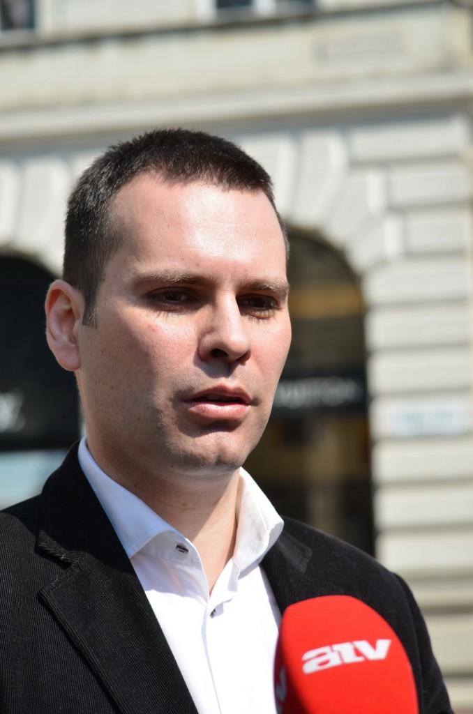 Molnár Csaba a DK ügyvezető alelnöke Fotó: Juhász Melinda