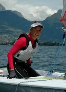 Érdi Mária Európa-bajnoki ezüstérmet szerzett az ifjúsági Byte CII hajóosztályban.