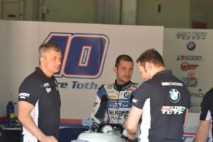 Ifjabb Tóth Imre mellett a Donington Parkban is Sebestyén Péter kap lehetőséget a BMW Racing Team Toth-tól a hétvégén a Superbike-vb csúcskategóriájában