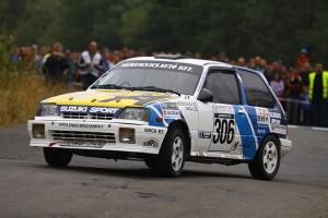 SOLID RACING TEAM – Székesfehérvár Rallye 2014 Merencsics Árpád – Varga Sándor, Suzuki Swift GTi