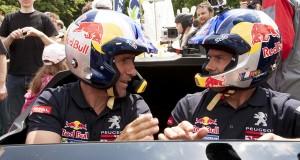 Stephane Peterhansel, Cyril Despres with the car 2008 DRK -  Llifestyle