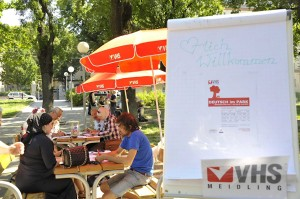 VHS Wien: Deutsch im Park - Kostenloses Sprachenlernen im öffentlichen Raum