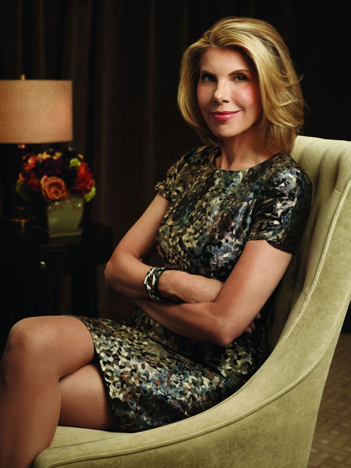 Christine Baranski as Diane Lockhart  on the CBS drama THE GOOD WIFE  on the CBS Television Network. Photo: Justin Stephens/CBS ¨© 2011 CBS Broadcasting Inc, All Rights Reserved.