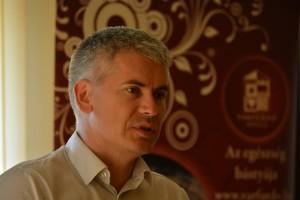 Boros László Attila a Gyulai Várfürdő Kft. ügyvezető igazgatója Fotó: Juhász Melinda