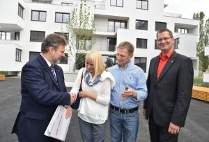 242 kostengünstige Wohnungen mit erhöhten Sicherheitsstandards