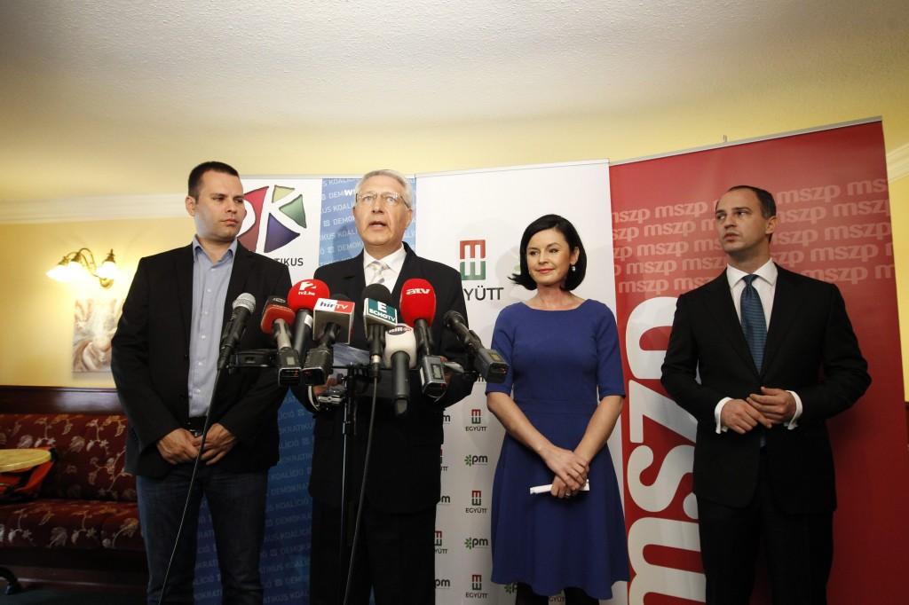 Szigetvári Viktor; Falus Ferenc; Molnár Csaba István; Kunhalmi Ágnes