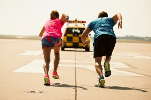 Nike Runway teaser shooting at the Liszt Ferenc tér Airport in Budapest
