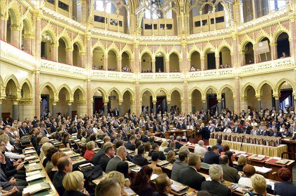 A 2014. évi Magyar Termék Nagydíj pályázat díjátadó ünnepsége az Országházban 2014. szeptember 3-án. MTI Fotó: Soós Lajos