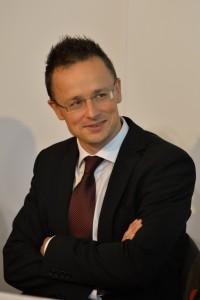 Szijjártó Péter Fotó: Dóka Attila
