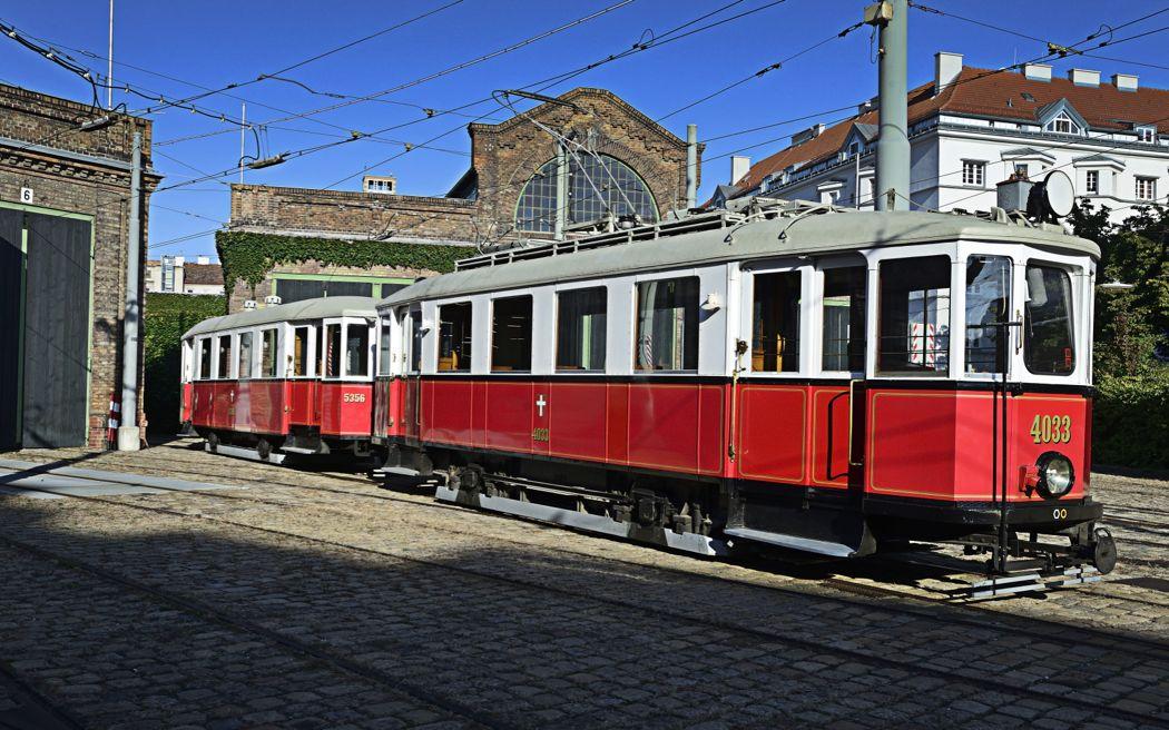 Im Museum der Wiener Linien in Erdberg befinden sich viele historische Fahrzeuge, Straßenbahnen wie Busse, aber auch etliche Sonderfahrzeuge.
