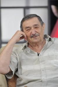 Életének 83. évében elhunyt Avar István Kossuth-díjas színművész, a nemzet színésze 2014. szeptember 13-án. A kép a Hogy volt!? című tv-műsor felvételén, az MTVA Kunigunda utcai gyártóbázisának 7-es stúdiójában készült 2014. április 2-án. MTI Fotó: Zih Zsolt