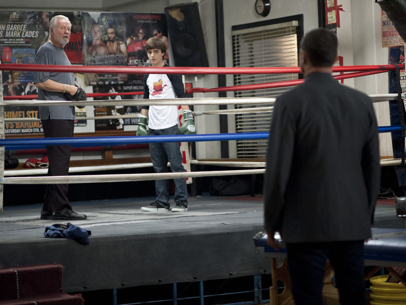 Jon Voight as Mickey Donovan, Devon Bagby as Conor Donovan and Liev Schreiber as Ray Donovan in Ray Donovan (Season 2, Episode 2). - Photo:  Suzanne Tenner/SHOWTIME - Photo ID:  RayDonovan_202_0778.R