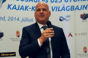 Schmidt Gábor, a Magyar Kajak-Kenu Szövetség főtitkára