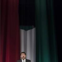Áder János köztársasági elnök beszédet mond az Operában rendezett díszelőadáson az '56-os forradalom és szabadságharc emléknapján, 2014. október 23-án. MTI Fotó: Koszticsák Szilárd