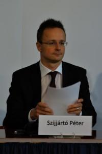 Szijjártó Péter külgazdasági és külügyminiszter  Fotó: www.amdala.hu