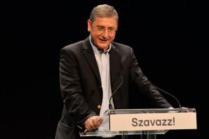 Gyurcsány Ferenc, a Demokratikus Koalíció elnöke Fotó: Dóka Attila