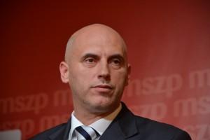 Tóbiás József, az MSZP elnök-frakcióvezetője  Fotó: Juhász Melinda