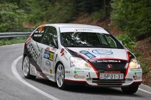 SOLID RACING TEAM – 48. Mecsek Rallye Kondella Péter – Szilassy Arnold, Honda Civic Type R