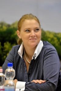 Gazsi Júlia, a Hungaroring Sport Zrt. vezérigazgató-helyettese  Fotó: Dóka Attila