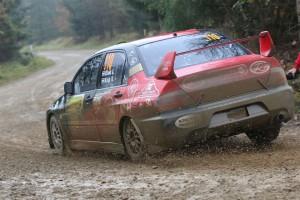 Maxx Race Team – 18. Quaestor Mikulás Rallye 2014 Kiss Viktor – Velenczei Ádám, Mitsubishi Lancer Evo IX R4
