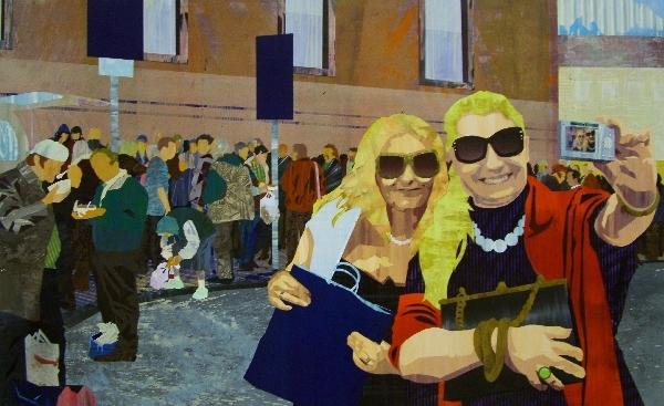 Hollós Ádám - Canon 2011, akril, bükktábla_Werk Akadémia kiállítás