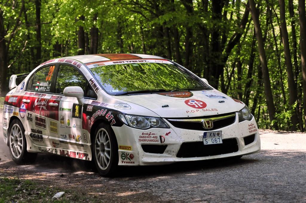 Juhász Csaba - Juhász Zsolt Miskolc Rally 201512