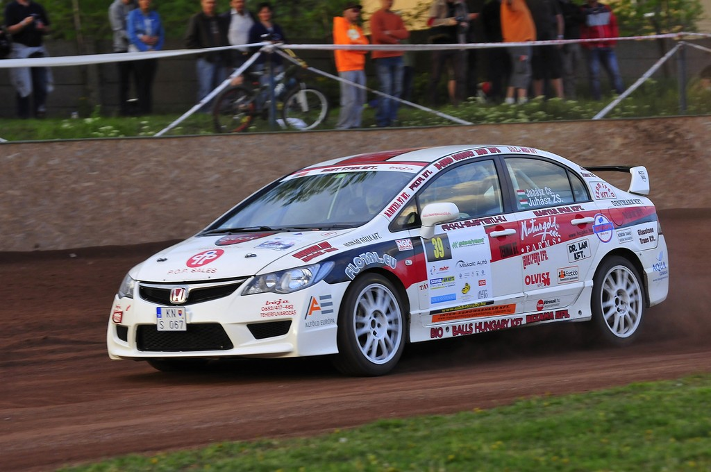Juhász Csaba - Juhász Zsolt Miskolc Rally 20159