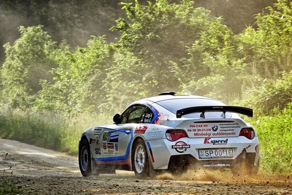 DYNAMIC RALLY TEAM – Székesfehérvár Rallye 2015 Lángi Attila – Veres Gábor, BMW Z4 M Coupe