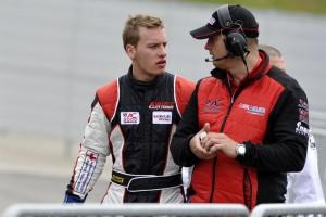 Interjú Füge Krisztián autóversenyzővel a Slovakia Ringi verseny előtt.