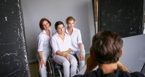 Lilu, Malek Andrea és Illés Fanni együtt álltak modellt