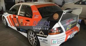 HIDEG RALLY TEAM – INA Delta Rally, Zágráb  Hideg Krisztián – Kerék István, Mitsubishi Lancer Evo IX