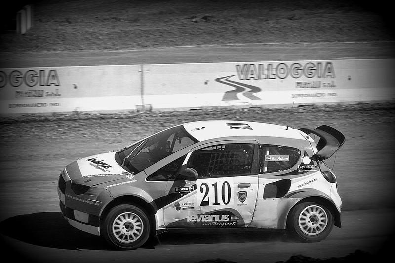 Kis Ádám Levianus Motorsport Mitsubishi Colt EVO