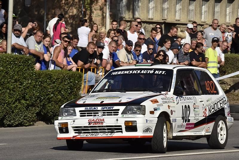 Solid Racing Team – 13. Rally Legend, San Marino Merencsics Árpád – Kulcsár Dániel, Suzuki Swift GTi